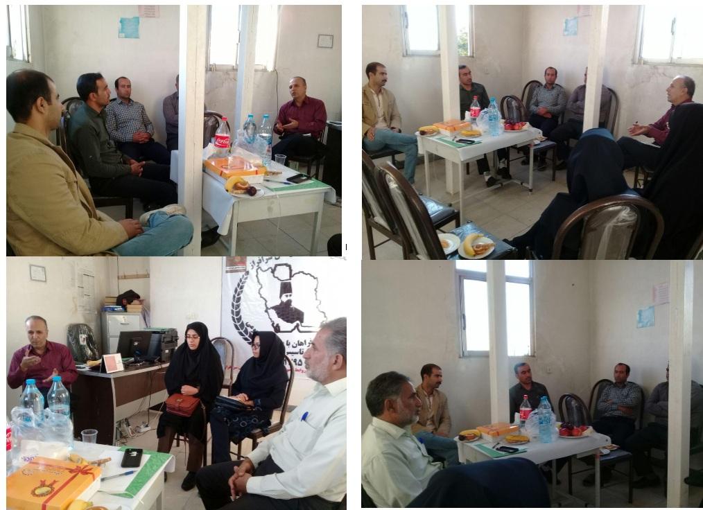 جلسه  کانون دامپروری در دفتر انجمن تلاشگران فراهان