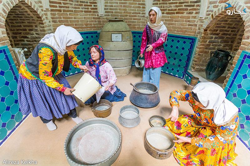 سبک زندگی در اکثر نقاط روستاهای فراهان