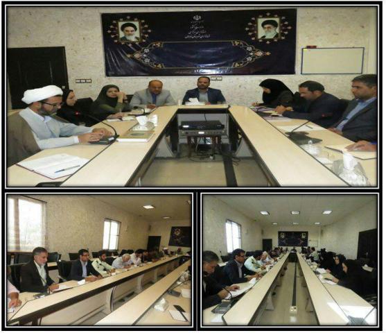 سومین جلسه کارگروه تخصصی امور اجتماعی و فرهنگی  شهرستان فراهان
