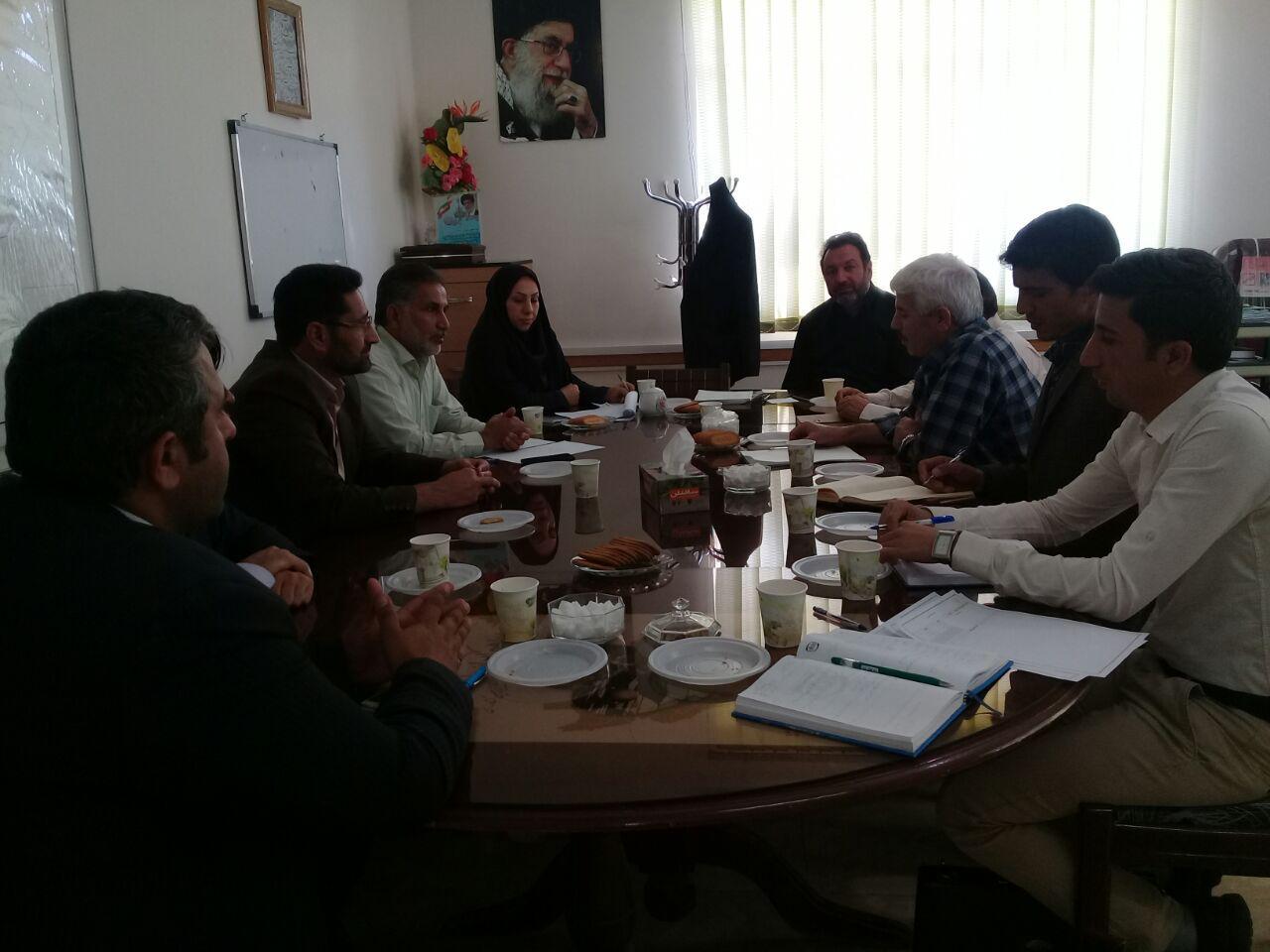 جلسه بررسی و ایجاد کار گروه های جشنواره طبخ آبزیان