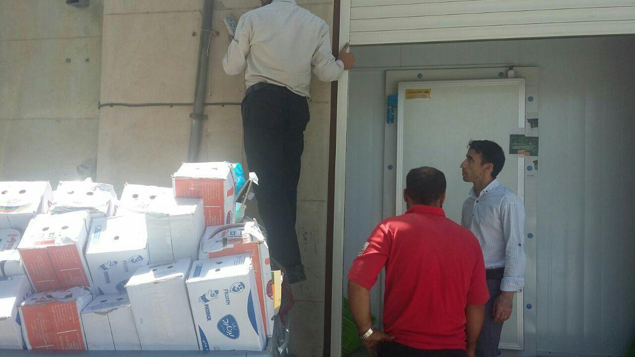 کشف و معدوم سازی بیش از یک تن مرغ فاسد و پانصد کیلوگرم بستنی در شهرستان فراهان