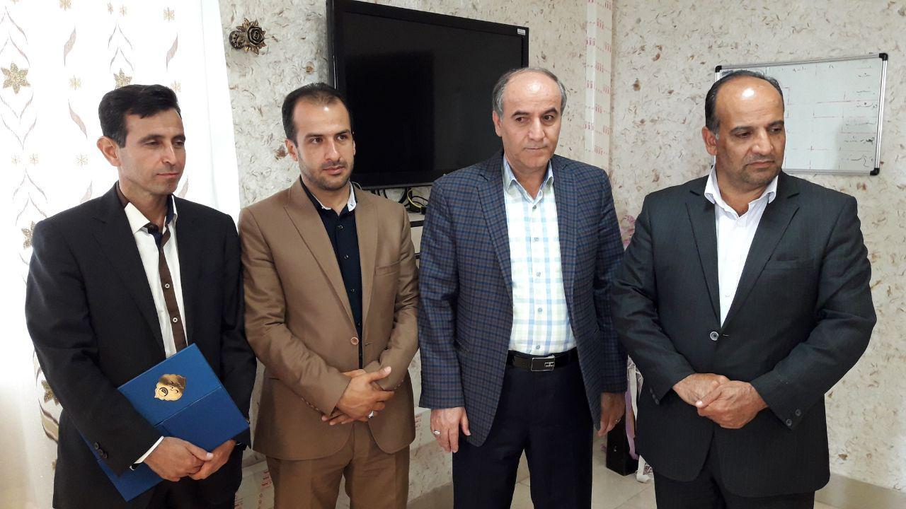 مراسم تودیع و معارفه اداره آب و فاضلاب شهرستان فراهان