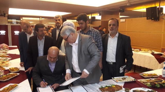 حضور مهندس فراهانی در آئین گشایش نخستین جشنواره ارتقای تولید و مصرف آبزیان در برج میلاد تهران